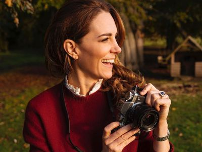 Kate poses for the release of her 'Hold Still' book, March
