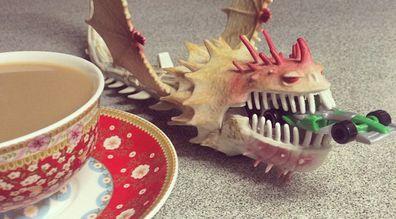 Car-eating dragon