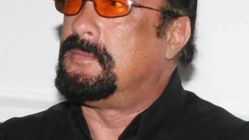 American actor Steven Seagal. (Getty)
