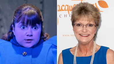 Denise Nickerson from Willy Wonka and the Chocolate Factory