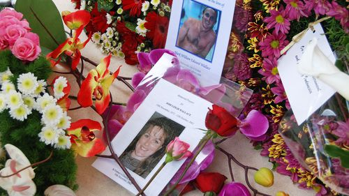 File photo of floral tributes to victims of the 2002 Bali bombings including NSW woman Jodi Wallace. (AAP)