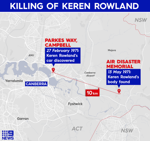 Keren Rowland was reported missing by her parents a couple of hours after she failed to return home.