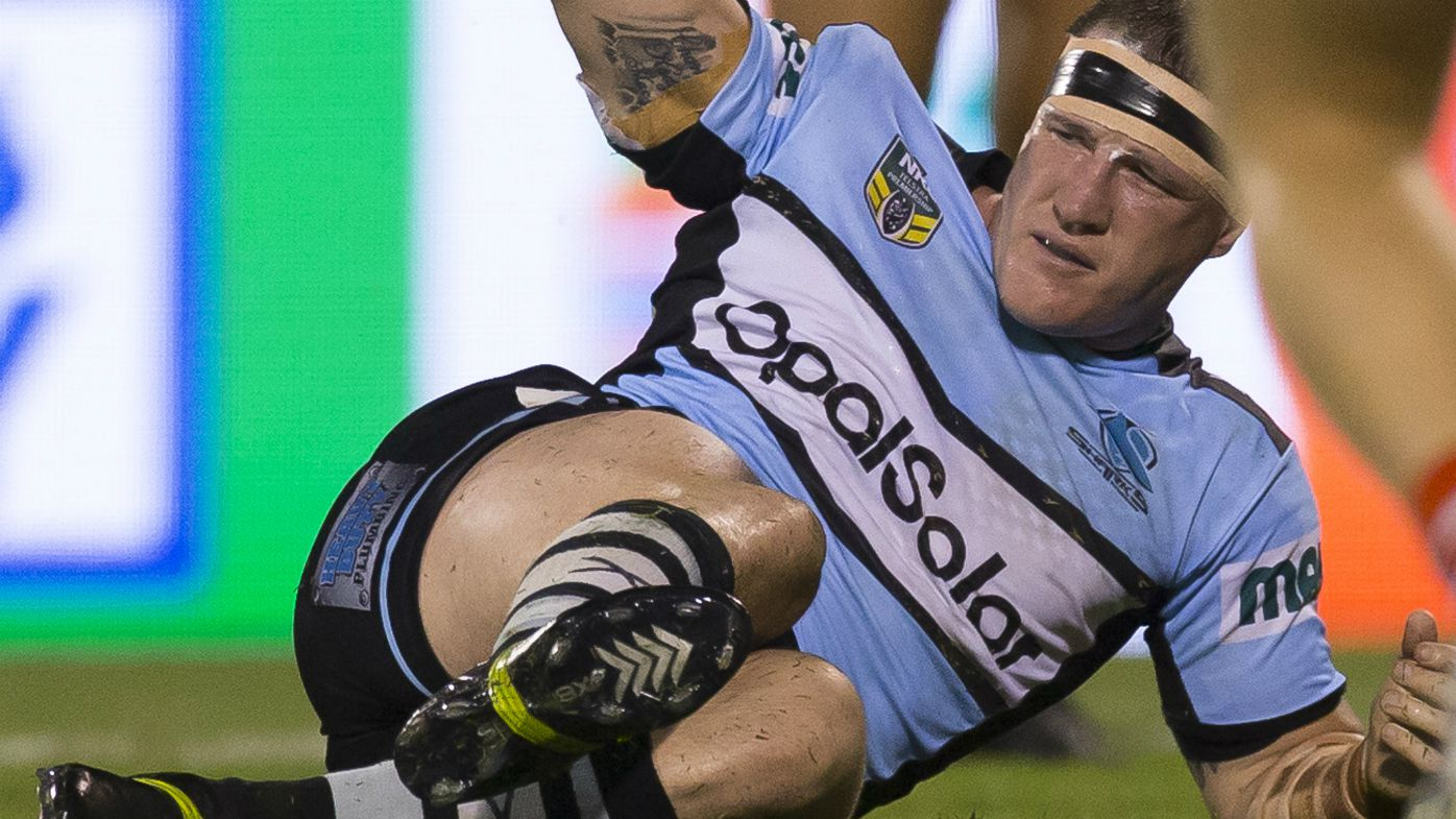 Paul Gallen and Andrew Fifita injured in Sharks-Dragons clash