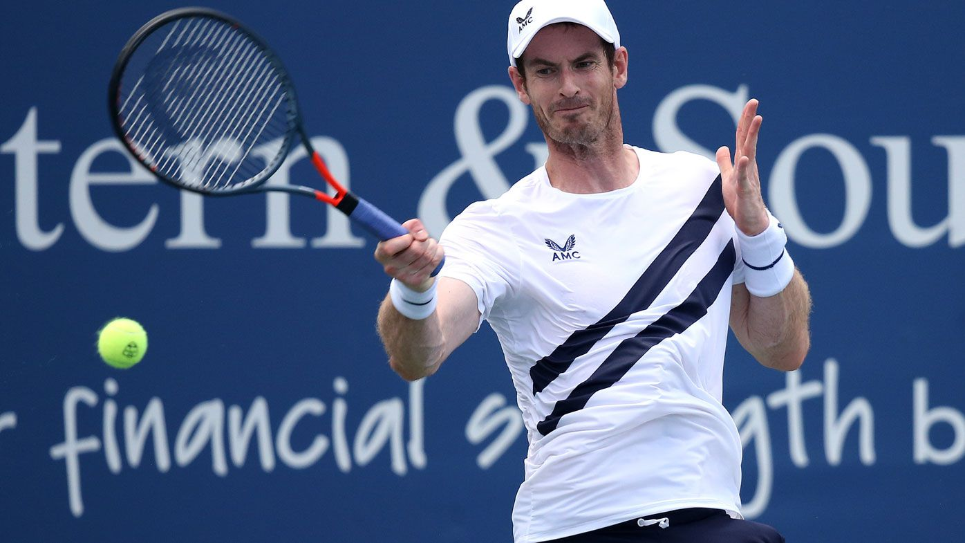 Andy Murray wins first match in nine months as men's tennis returns
