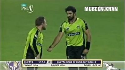 Cricketer has 'brain explosion' and furls ball at teammate