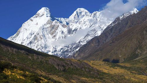 Nanda Devi is the second tallest mountain in India.
