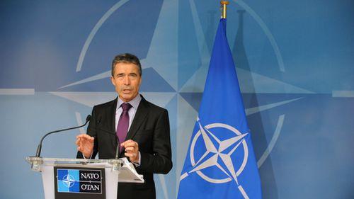 NATO chief says alliance will fight Russian aggression