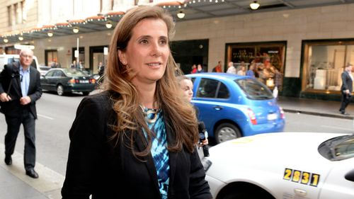 Health Services Union whistleblower Kathy Jackson. (AAP)