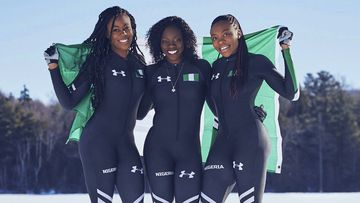 Nigeria's bobsled team began their journey in a Texas garage
