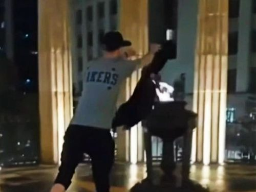 RSL Queensland has told 9News they're furious after two local boxers filmed themselves breaching the state's current lockdown and extinguishing Brisbane's eternal flame.
