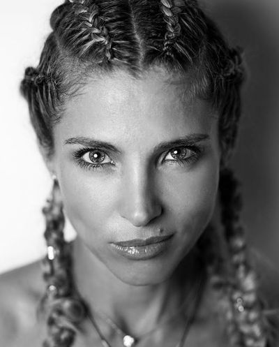 Elsa Pataky's Forever French braids