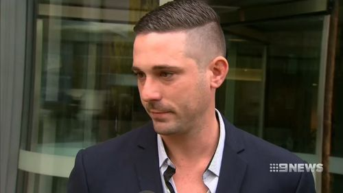 """James Dorrian called the decision a """"joke"""". Picture: 9NEWS"""