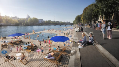 The Seine is set to undergo a huge cleanup operation.