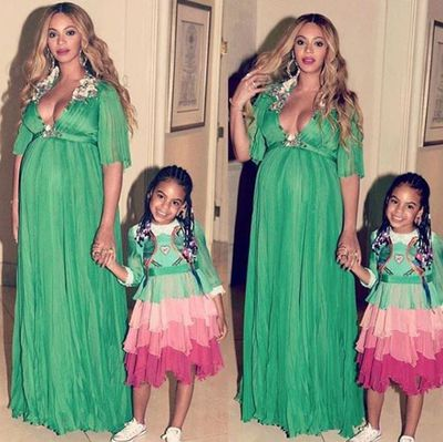Beyoncé and Blue Ivy in Gucci