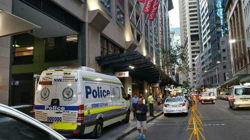 Police shut Sydney shopping centre after resident falls 18 storeys from apartment