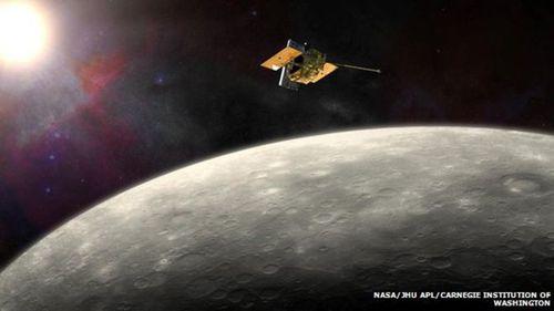 Messenger was the first spacecraft to orbit Mercury. (NASA)