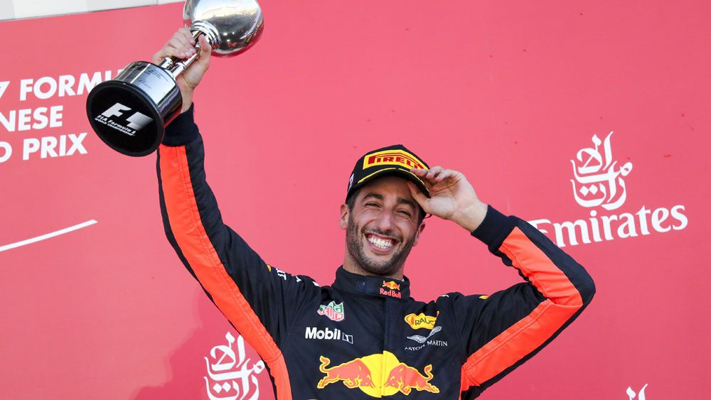 Australia's Red Bull Formula One driver Daniel Ricciardo claims career-best milestone in Japanese Grand Prix