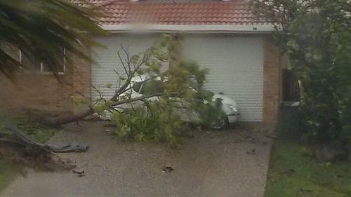 Cyclone Marcia is now a category three storm. (Heath Henwood, Yeppoon)
