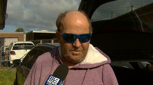 """The missus grabbed a carving knife,"" Mr Matthews recalled. Picture: 9NEWS"