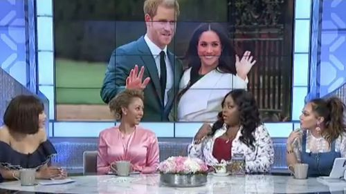 Mel B was being interviewed on the Real Talk TV show in the United States. (Supplied)