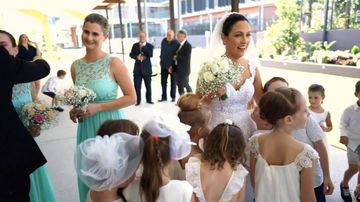 Teacher wedding
