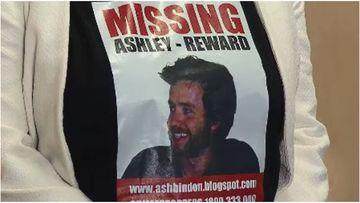 Ashley Bindon was last seen in Rose Bay back in 2005.