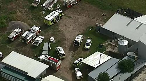 Man critical after machinery incident west of Brisbane