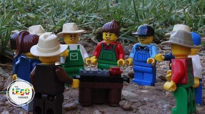 "Aimee Snowden lives on an irrigation farm between the Riverina towns of Finley and Tocumwal, and started a blog, <a href=""http://www.legofarmer.com/blog"">The Lego Farmer</a>, in September. <p></p><p></p>"