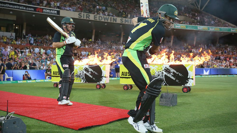 Steve Smith is not sure who will make up the top order. (AAP)