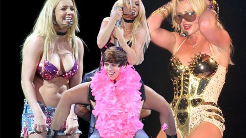 Britney's biggest onstage bloopers