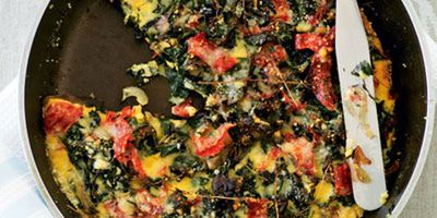 "<a href=""http://kitchen.nine.com.au/2016/05/19/12/35/silverbeet-salami-frittata"" target=""_top"">Silverbeet and salami frittata</a>"