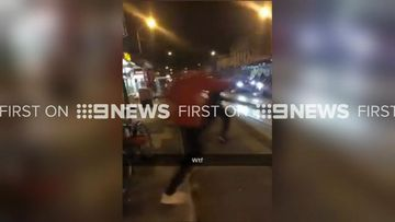 9RAW: Fights erupt after nearly 500 teens leave Northcote Halloween party