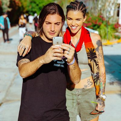 Ruby Rose with DJ Alesso