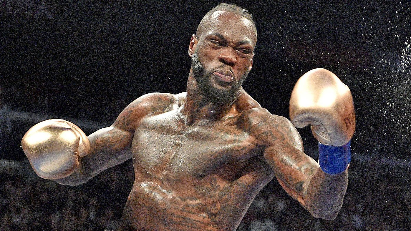 Anthony Joshua 'begging' for title fight: Deontay Wilder