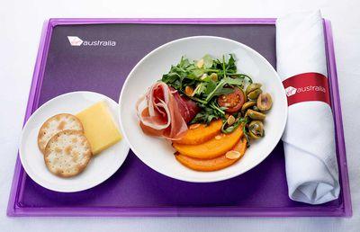 Virgin Australia Lunch