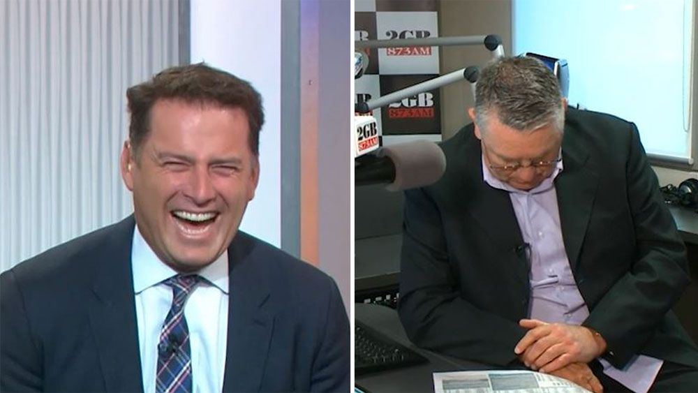Today show host Karl Stefanovic puts mock on radio king Ray Hadley's Melbourne cup tip Rekindling