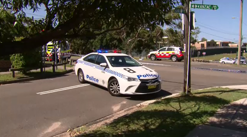 Police have cordoned off a section of Anzac Parade and a report will be prepared by the coroner.