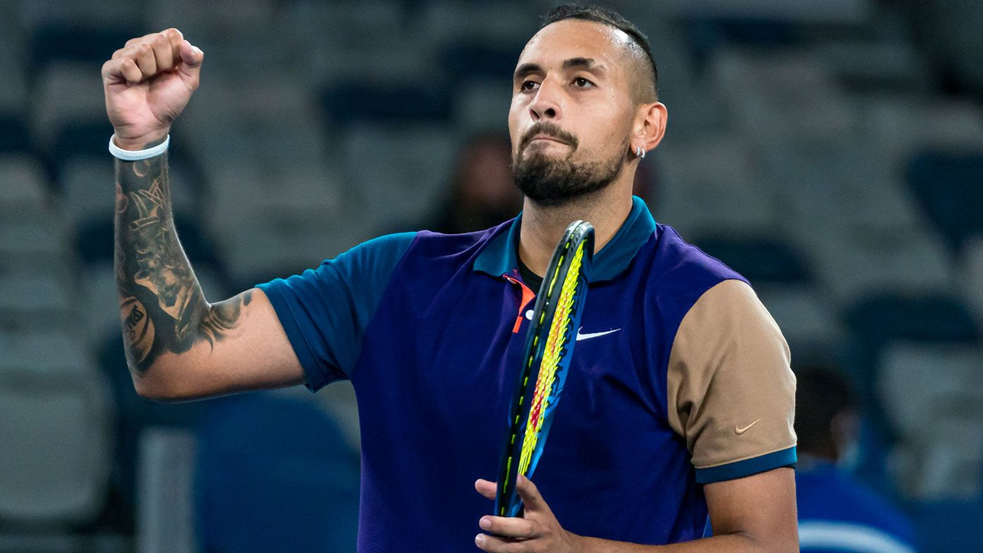'I'm a wise man now': Sage Nick Kyrgios reflects on tennis evolution, addresses on-court antics
