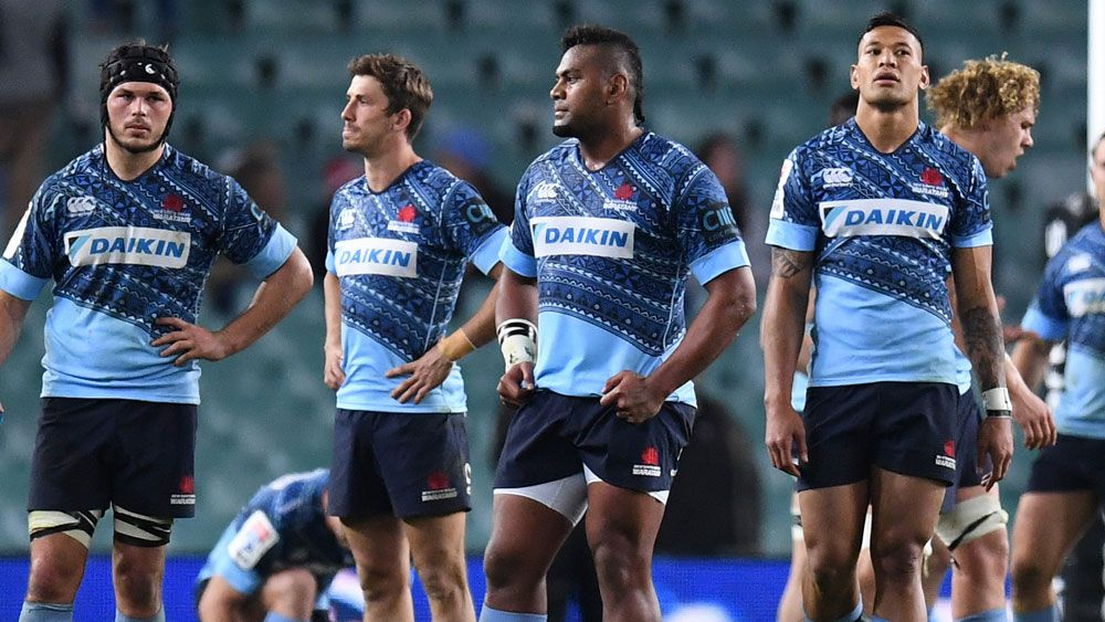 Waratahs coach Daryl Gibson 'thriving' on tension