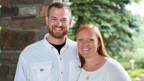 Dr. Kent Brantly and his wife, Amber, are seen in an undated photo provided by Samaritan's Purse. Brantly became the first person infected with Ebola to be brought to the United States from Africa. (AP Photo/Samaritan's Purse)