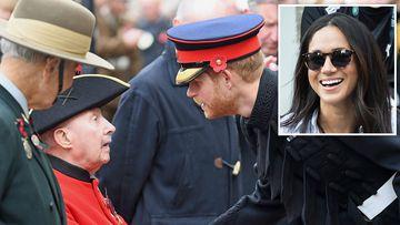 Prince Harry jokes he 'can't hide Megan Markle anywhere'