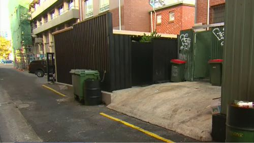 Chris was out with friends when he was attacked in a laneway.