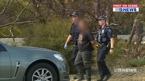 A woman was in the car with the men, was not detained. (9NEWS)