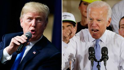 Trump, Biden threaten to fight one another