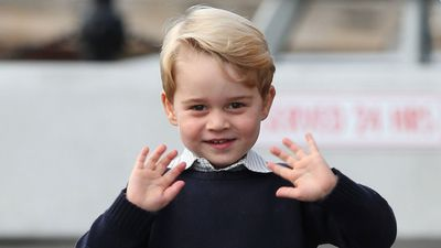Happy fourth birthday, Prince George!