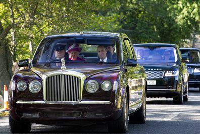 The Cambridges joined the Queen for the Bank Holiday weekend.