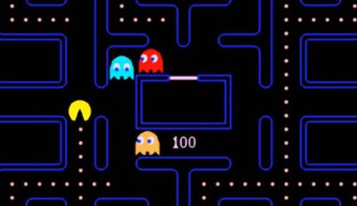 Pac-Mac is an arcade game developed in the 1980s.