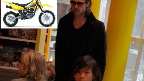 Brad Pitt buys son Maddox a motorbike for his 11th birthday
