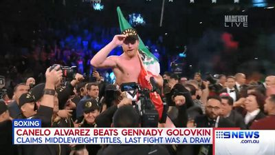 Canelo Alvarez revels at lavish after-party following victory over Gennady Golovkin