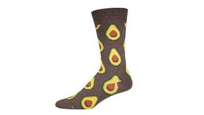 "<p>It wouldn't be Father's Day without socks right? So why not get him a pair that professes his foodie loves, from chilli to burgers and these babies.</p> <p><a href=""https://thesockery.com.au/shop/mens-socks/avocado-socks-mens-crew-socks/"" target=""_top"">Avocado Socks</a>, $22 from TheSockery.com.au </p>"
